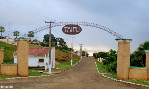 Taipu - Pórtico na entrada da cidade