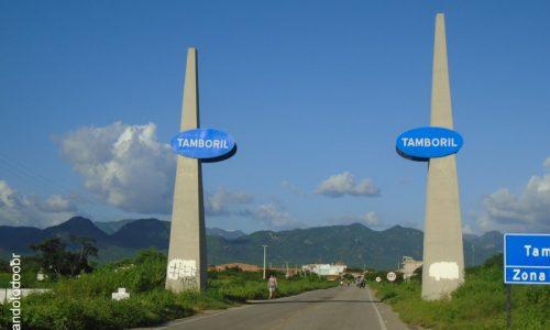 Tamboril - Portal na entrada da cidade