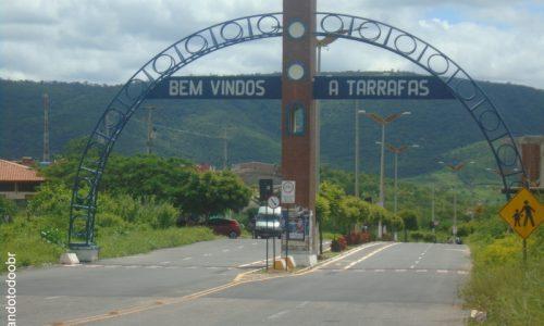 Tarrafas - Pórtico na entrada da cidade