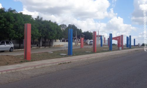 Tenente Ananias - Praça na entrada da cidade