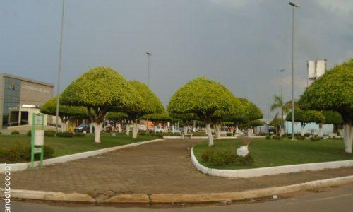 Urupá - Praça Municipal
