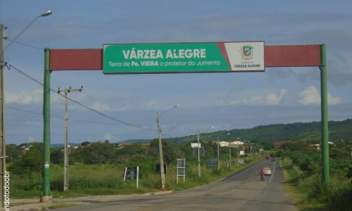 Várzea Alegre - Pórtico na entrada da cidade