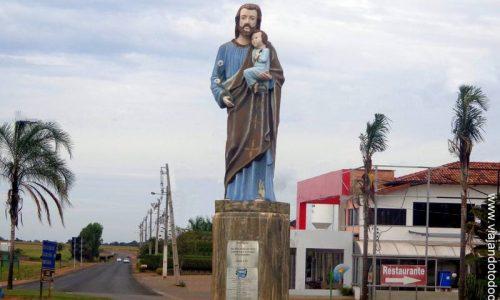Vianópolis - Imagem em homenagem a São José