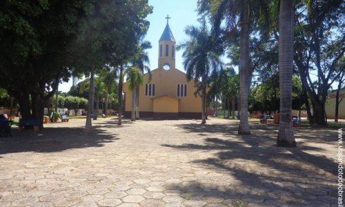 Vila Propício - Praça da Igreja Matriz de Santo Antônio de Pádua