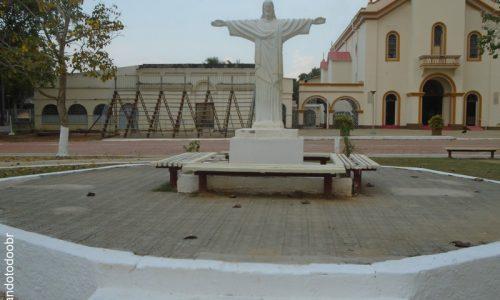 Xapuri - Imagem em homenagem ao Cristo Redentor