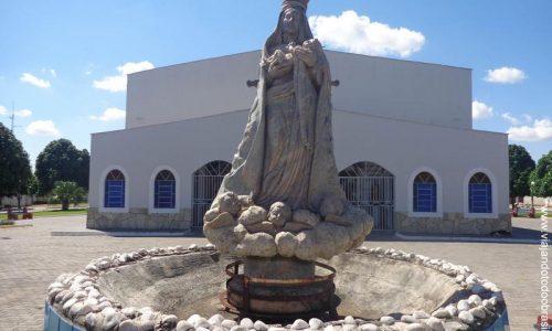 Abadia de Goiás - Imagem em homenagem a Nossa Senhora D'Abadia