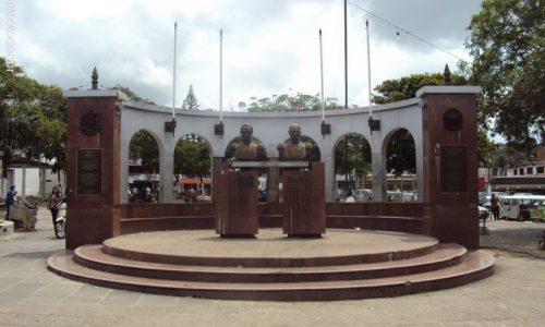 Abreu e Lima - Estátuas em Homenagem ao General Abreu e Lima e Simon Bolivar