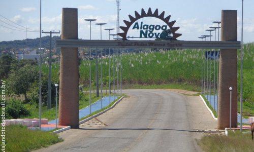 Alagoa Nova - Pórtico na entrada da cidade
