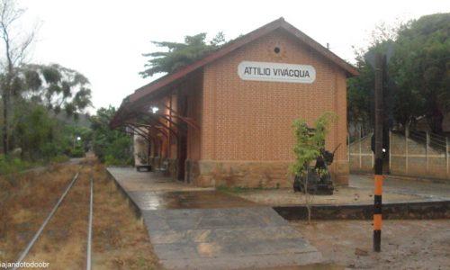 Atílio Vivacqua - Estação Ferroviária
