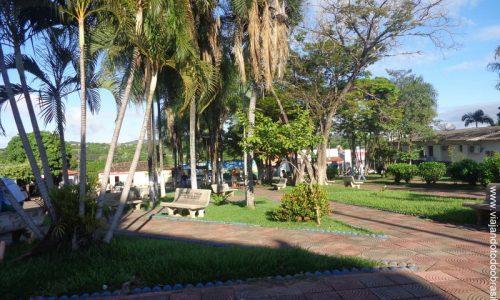 Baliza - Praça da Igreja Matriz de São Sebastião