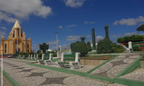 Barra de Santa Rosa - Praça Frei Martinho