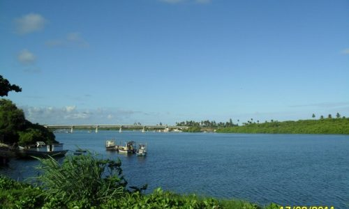 Barra de Santo Antônio - Ponte Rogério Farias