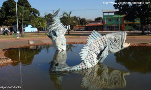 Bataguassu - Praça dos Tucunarés