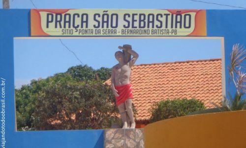 Bernardino Batista - Praça São Sebastião