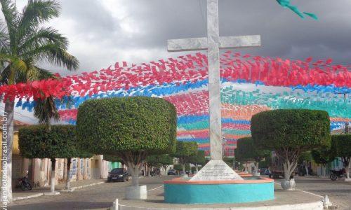 Bonito de Santa Fé - Cruzeiro da Igreja Matriz de Santo Antônio de Pádua