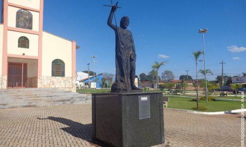 Brazabrantes - Imagem em homenagem a São João Batista