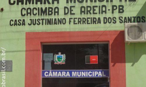 Cacimba de Areia - Câmara Municipal