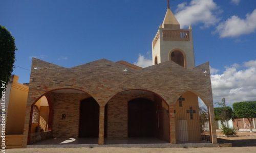 Cacimba de Dentro - Igreja São Francisco (Distrito de Logradouro)