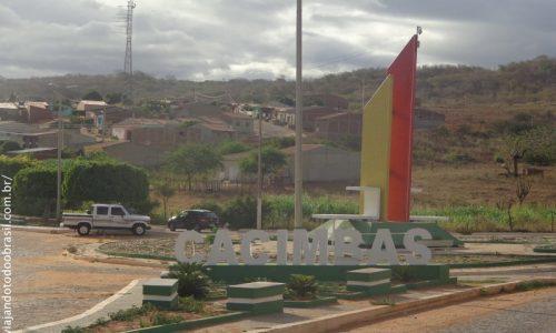Cacimbas - Pórtico na entrada da cidade