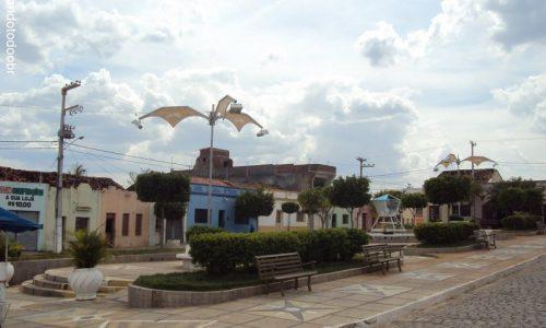 Calumbi - Praça da Igreja Matriz de Nossa Senhora da Conceição