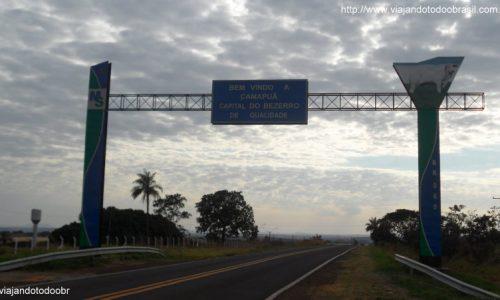 Camapuã - Pórtico da entrada da cidade