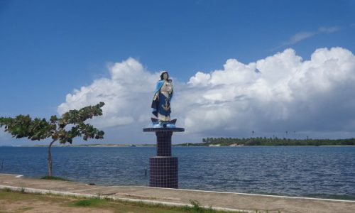 Canguaretama - Imagem em homenagem a Nossa Senhora dos Navegantes