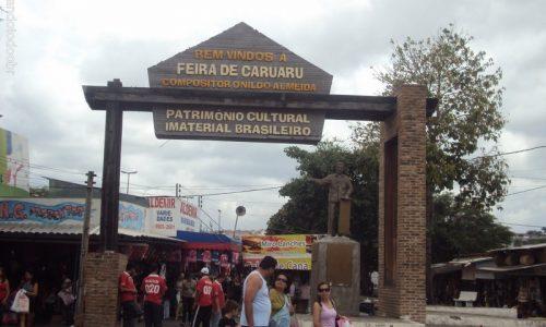 Caruaru - Pórtico de Entrada da Feira de Caruaru