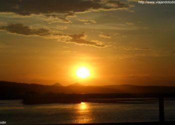 Colatina - Pôr do Sol no Rio Doce
