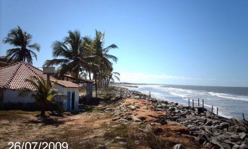 Praia em Conceição da Barra