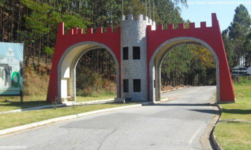 Conceição do Castelo - Pórtico de entrada da cidade