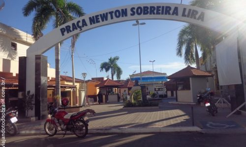 Coremas - Praça Newton Sobreira Lira