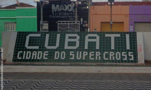 Cubati - Letreiro na entrada da cidade