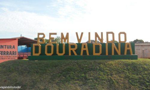 Douradina - Entrada da cidade