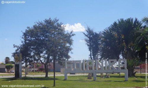 Goianira - Letreiro na entrada da cidade