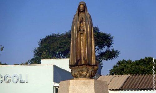 Hidrolândia - Imagem em homenagem a Nossa Senhora de Fátima