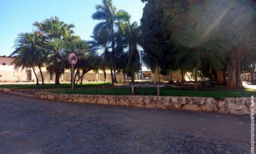 Iaciara - Praça da Igreja Matriz de Santo Antônio de Pádua