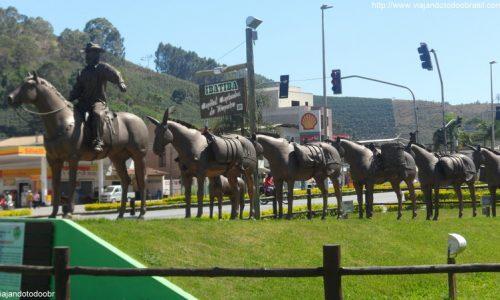 Ibatiba - Monumento aos Tropeiros