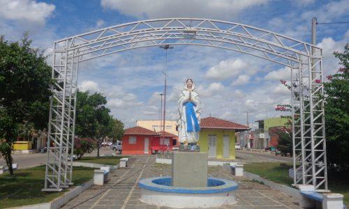 Ipanguaçu - Imagem em homenagem a Nossa de Senhora de Lourdes