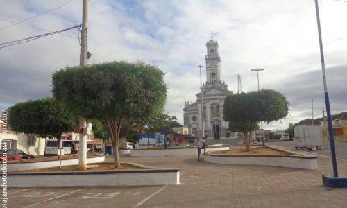 Itaporanga - Praça do Centenário Monsenhor José Sinfrônio