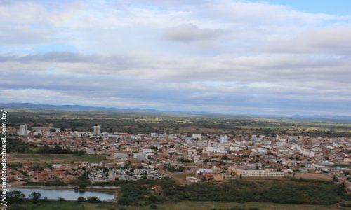 Itaporanga - Vista parcial da cidade