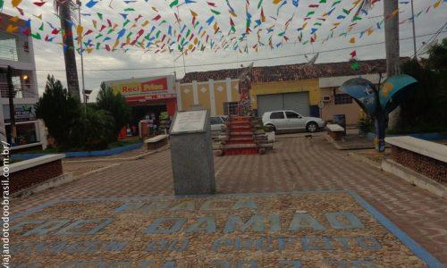 Itapororoca - Praça Frei Damião