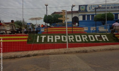 Itapororoca - Praça Geralddo Mendes Pontes