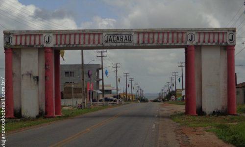Jacaraú - Pórtico na entrada da cidade