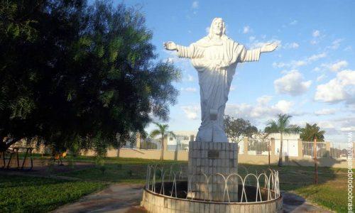 Jardim Botânico - Imagem em homenagem ao Cristo Redentor