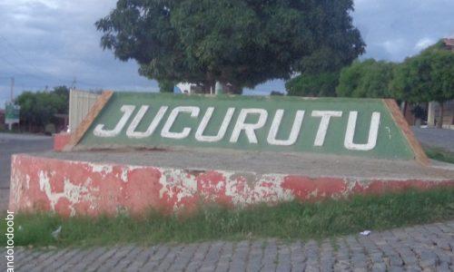 Jucurutu - Letreiro na entrada da cidade