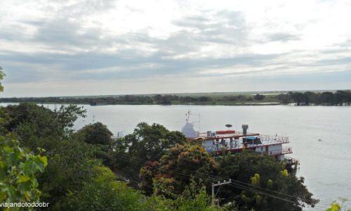 Ladário - Rio Paraguai visto do Mirante Pantaneiro