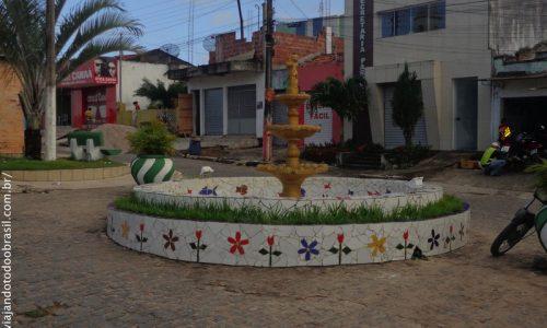 Lagoa de Dentro - Chafariz na Rua do Comércio