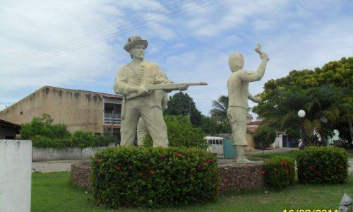 Maragogi - Imagem em homenagem a Guerra do Canudos