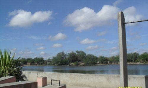 Maravilha - Lagoa na entrada da cidade