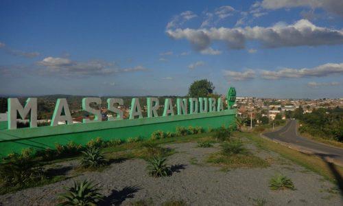 Massaranduba - Letreiro da entrada da cidade